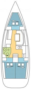 Boat rental Kos cheap Sun Odyssey 389