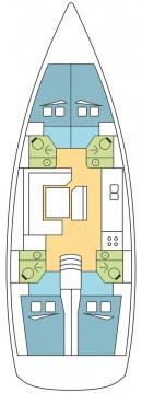 Boat rental Gouvia cheap Sun Odyssey 479