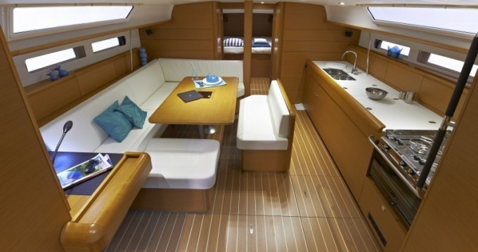 Jeanneau Sun Odyssey 479 between personal and professional Gouvia