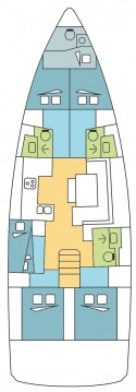 Jeanneau Sun Odyssey 490 between personal and professional Olbia