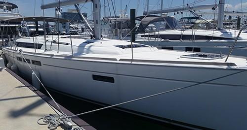 Jeanneau Sun Odyssey 509 between personal and professional Burlington