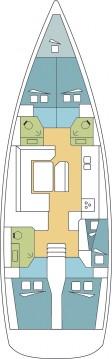 Rental Sailboat in Komolac - Jeanneau Sun Odyssey 509