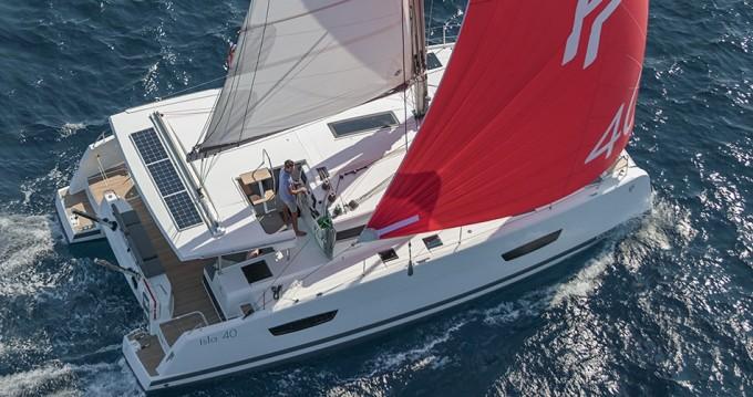 Rental Catamaran in Saint Thomas - Fountaine Pajot Fountaine Pajot Lucia 40 - 4 + 1 cab.