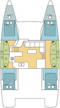 Fountaine Pajot Elba 45 between personal and professional Scrub Island