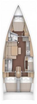 Rental yacht Jezera - Dufour Dufour 430 on SamBoat