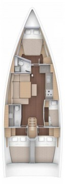 Boat rental Trogir cheap Dufour 430