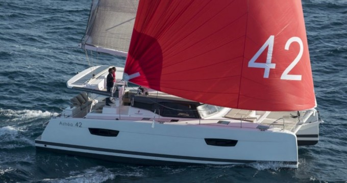 Fountaine Pajot Astrea 42 between personal and professional St. Petersburg