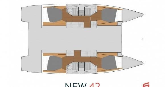 Boat rental St. Petersburg cheap Astrea 42