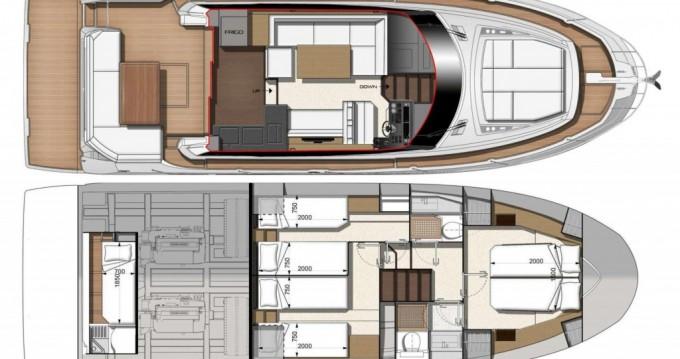 Boat rental Jeanneau Prestige 460 Fly in St. Petersburg on Samboat