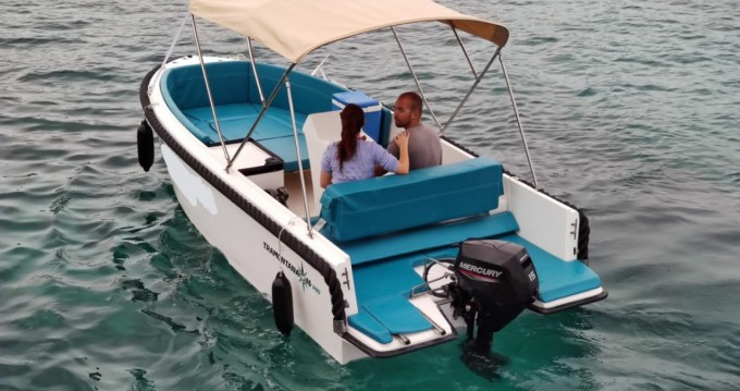 Rental Motorboat Tramontana with a permit