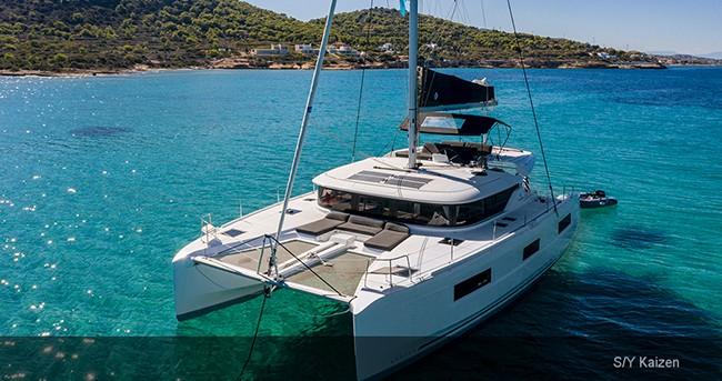 Boat rental Athens cheap Lagoon 46