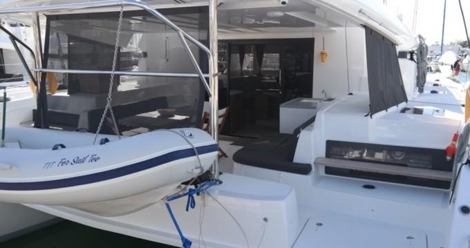 Boat rental Mykonos (Island) cheap Lagoon 50