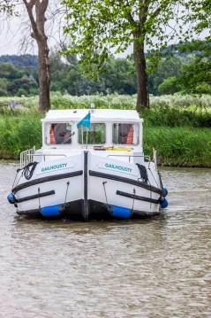 Rental Canal boat in Saint-Léger-sur-Dheune - Pénichette Terrasse 1120 R
