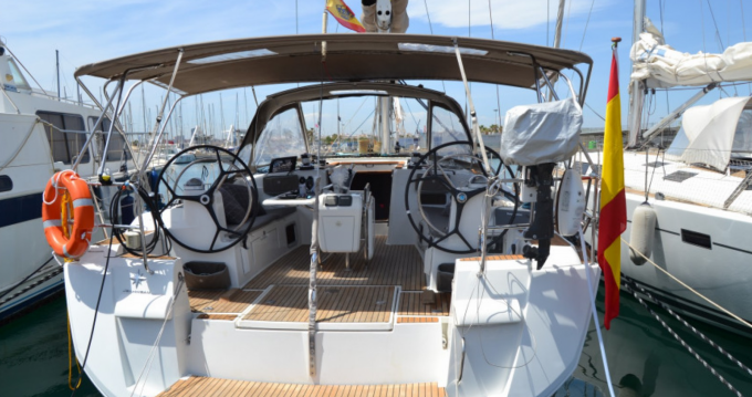 Rental Sailboat in Ibiza Island - Jeanneau Sun Odyssey 509