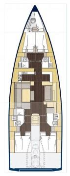 Rental yacht Lávrio - Bavaria Bavaria C57 Style- 5 cab. on SamBoat