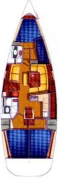 Rent a Jeanneau Sun Odyssey 43 Lávrio