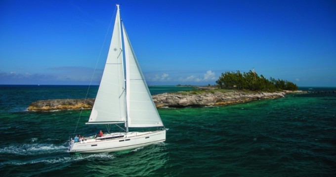 Jeanneau Sun Odyssey 479 between personal and professional Rhodes