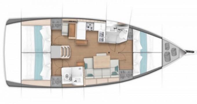 Rental yacht Palma de Mallorca - Jeanneau Sun Odyssey 440 on SamBoat