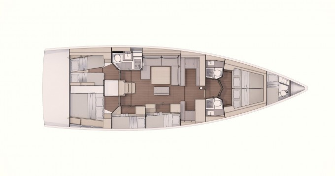Boat rental Dufour Dufour 530 in Castellammare di Stabia on Samboat