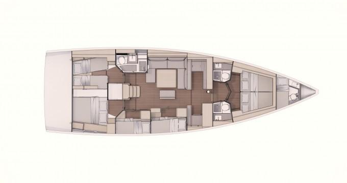 Boat rental Castellammare di Stabia cheap Dufour 530