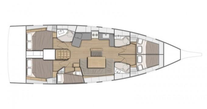 Rental yacht Castellammare di Stabia - Bénéteau Oceanis 46.1 on SamBoat