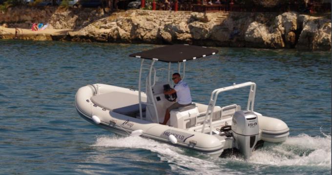 Rental yacht Luka Sukošan - Highfield Patrol 660 on SamBoat
