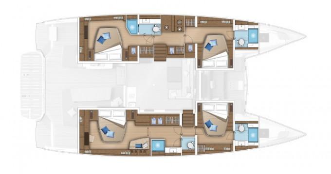 Rental Catamaran in Split - Lagoon Lagoon 55 (2022) luxury owner version