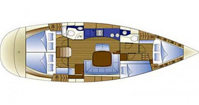 Sailboat for rent Alimos at the best price