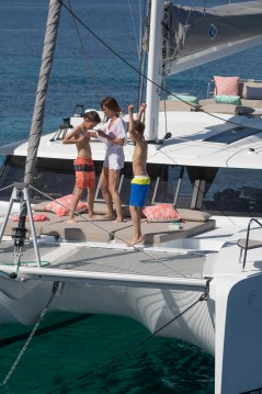 Boat rental Fountaine Pajot Saona 47 in Mykonos (Island) on Samboat