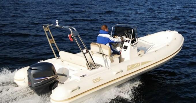 Boat rental Saint-Raphaël cheap BSC 61