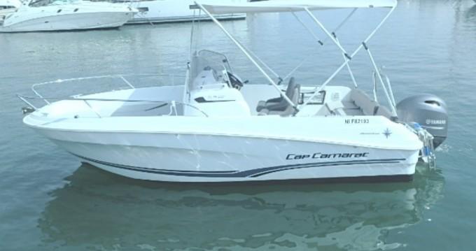 Rental Motorboat in Cannes - Jeanneau Cap Camarat 5.5 CC Serie 2