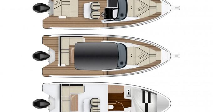 Rental yacht Biograd na Moru - Hanse RYCK 280 on SamBoat
