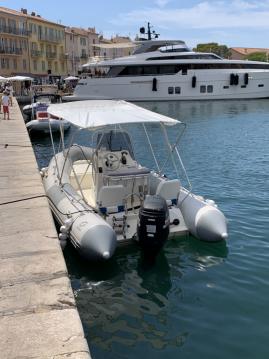 Rental RIB in Saint-Tropez - Zodiac Pro 550 Open