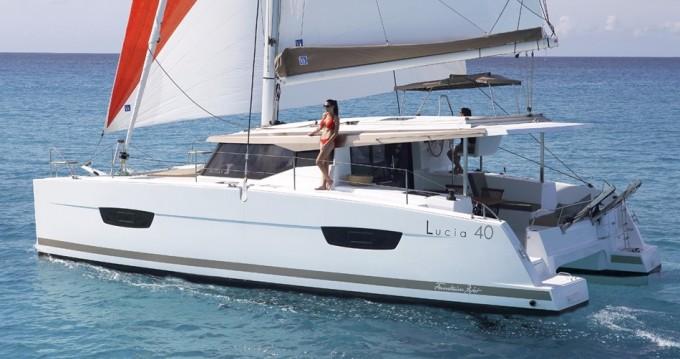 Boat rental Saint Thomas cheap Lucia 40
