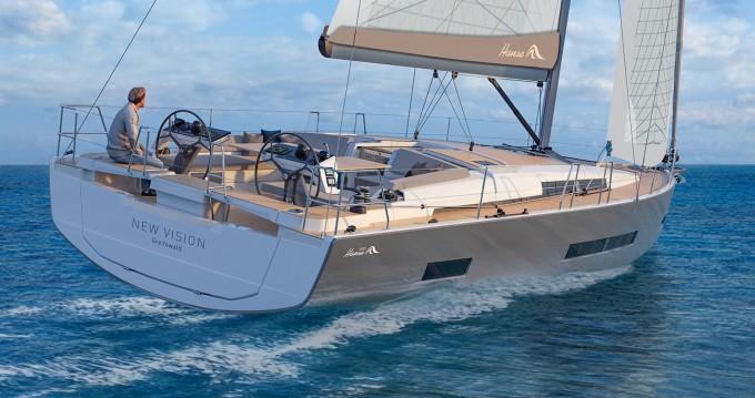 Rental yacht Seget Donji - Hanse Hanse 460 - 4 cab. on SamBoat