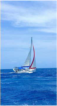 Jeanneau Sun Odyssey 44i between personal and professional Le Gosier