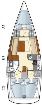 Boat rental Biograd na Moru cheap Hanse 355