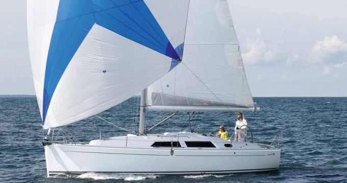 Rental Sailboat in Biograd na Moru - Hanse Hanse 355