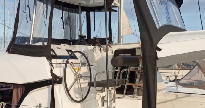 Boat rental Lagoon Lagoon 42 (4+2)  A/C - WM- Gen in Palermo on Samboat