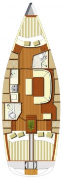 Dufour Dufour 385 GL between personal and professional Paros Island