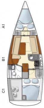 Rental yacht Alimos - Hanse Hanse 325 on SamBoat