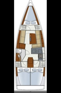 Rental Sailboat in Alimos - Hanse Hanse 345