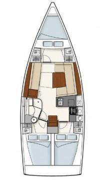 Boat rental Hanse Hanse 385 in Alimos on Samboat