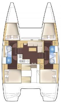 Rental yacht Gouvia - Lagoon Lagoon 39 on SamBoat