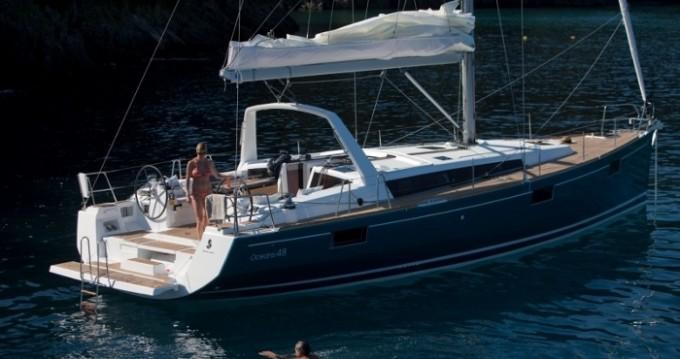Boat rental Alimos cheap Oceanis 48