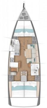 Rental Sailboat in Paros Island - Jeanneau Sun Odyssey 440