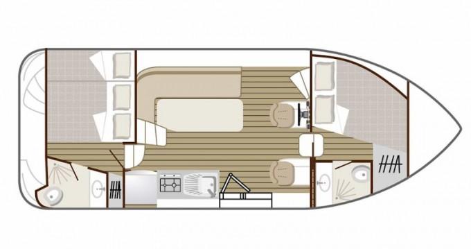 Boat rental  Confort 900 DP in Bellegarde on Samboat