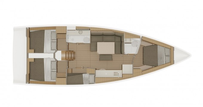 Dufour Dufour 430 Grand Large between personal and professional Porto Rotondo