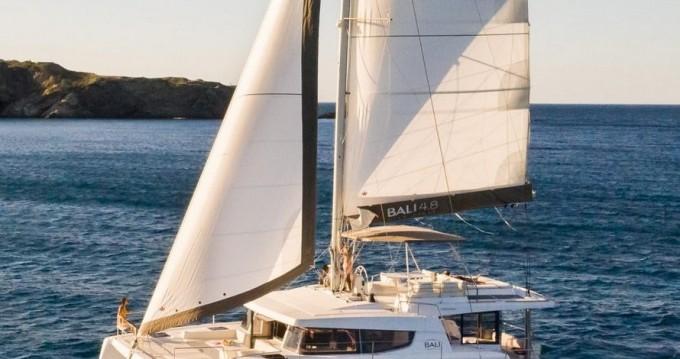 Hire Catamaran with or without skipper Bali Catamarans Porto Rotondo