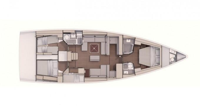Rental yacht Porto Rotondo - Dufour Dufour 530 Owner's version on SamBoat